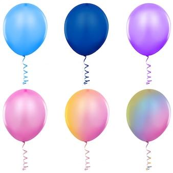 Ballons de fête à l'hélium