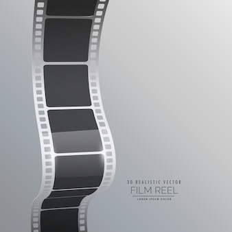 Bande bobine de film vecteur de fond