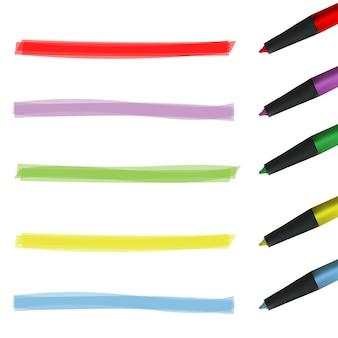 Bande de couleur en surbrillance