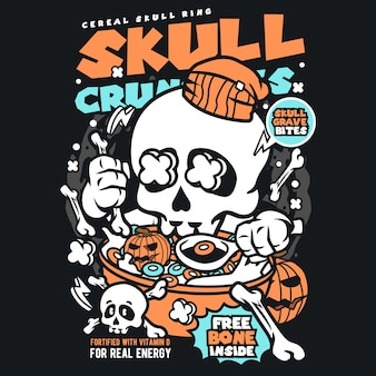 Bande dessinée crâne crâne