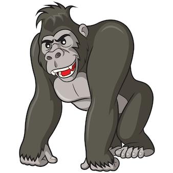 Bande dessinée gorille