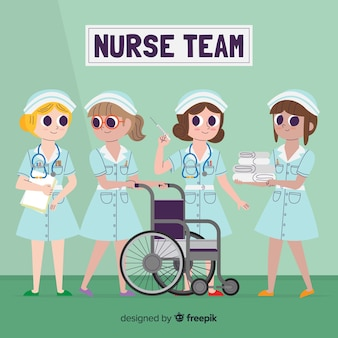 Bande dessinée infirmière