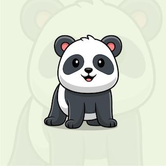 Bande dessinée mignonne de panda