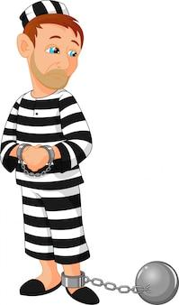 Bande dessinée prisonnier