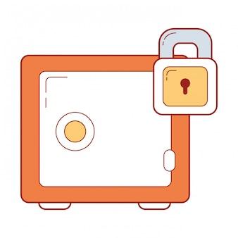 Bande dessinée système de sécurité