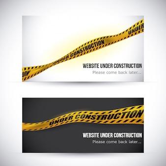 Bande jaune design.