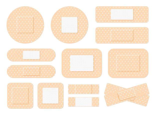 Bande de premiers soins en plâtre médical bande de plâtre patch médical bande de plâtrage croisée et plâtriers poreux