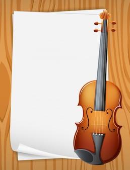 Banderole de violon