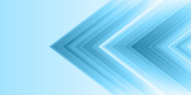 Bannière abstraite avec un style moderne