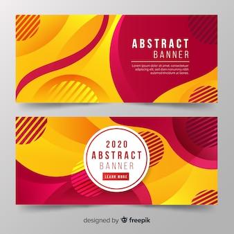 Bannière abstraite