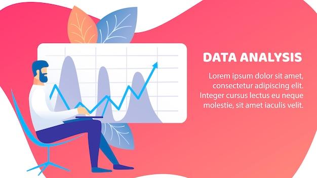 Bannière d'analyse de données