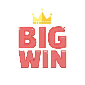 Bannière big win