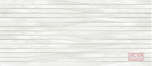 Bannière blanche en bois dans un style vintage. fond de texture de modèle grunge, texture de fond de parquet en bois. planche de bois.