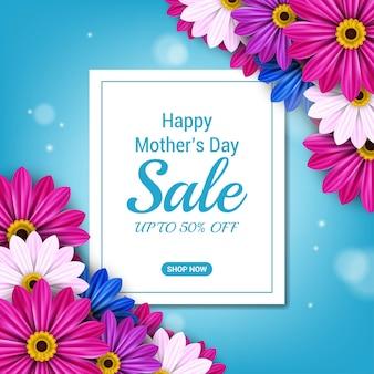 Bannière de bonne fête des mères