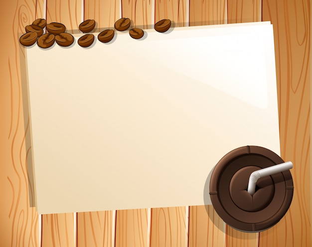 Bannière et café