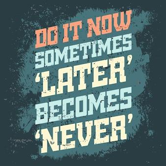Bannière de citation de motivation