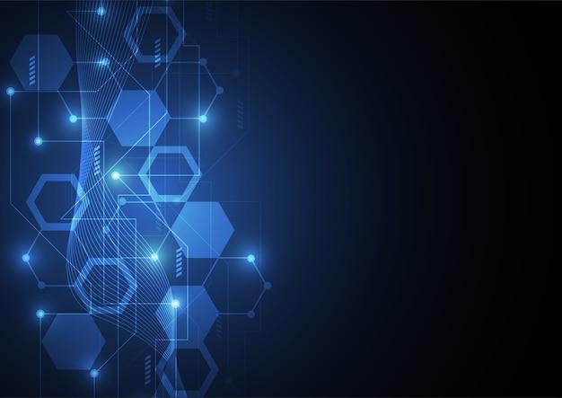 Bannière concept blockchain