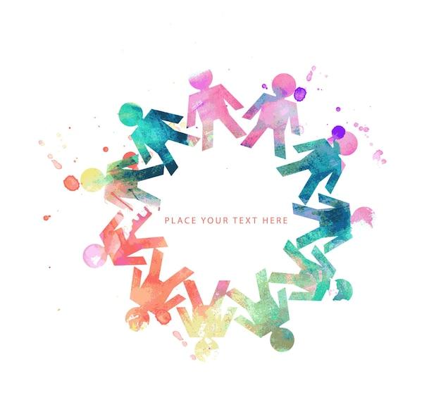 Bannière de conception de réseaux sociaux, illustration vectorielle.