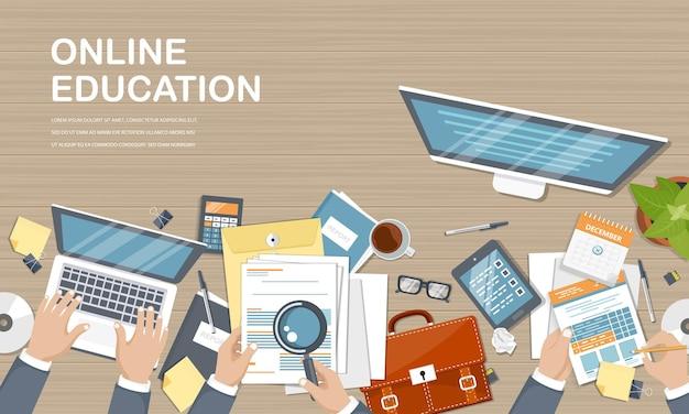 Bannière des cours en ligne