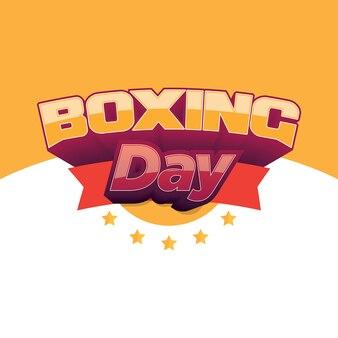 Bannière de boxe