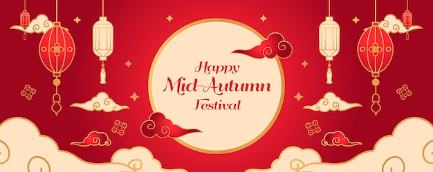 Bannière du festival de la mi-automne