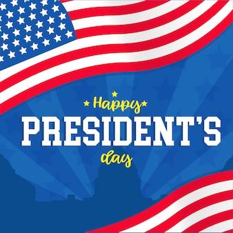 Bannière du jour du président