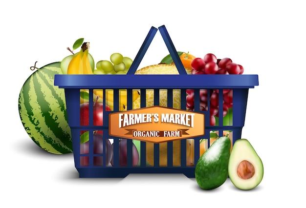 Bannière du marché fermier