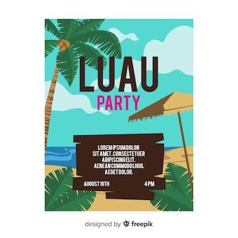 Bannière du parti luau
