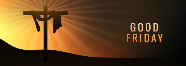 Bannière du vendredi saint