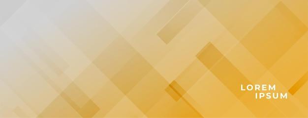 Bannière élégante abstraite avec des lignes diagonales