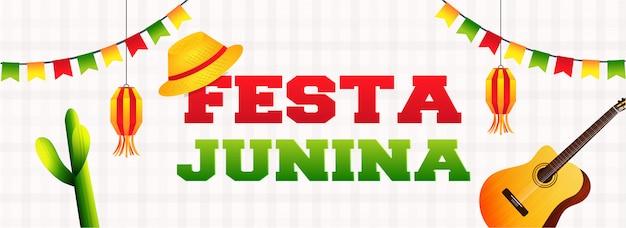 Bannière festa junina