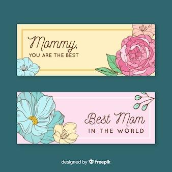 Bannière de la fête des mères