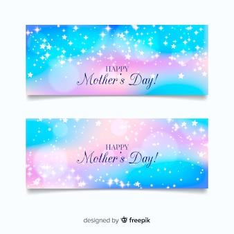 Bannière de fête des mères