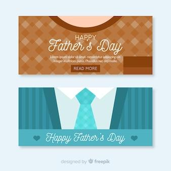 Bannière de la fête des pères
