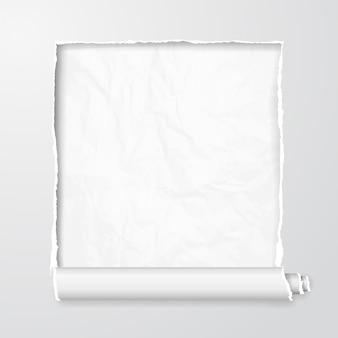 Bannière fissurée
