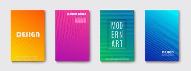 Bannière de fond abstrait. design moderne coloré