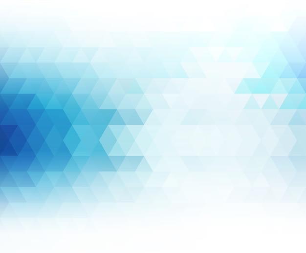 Bannière géométrique abstraite avec triangle.
