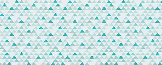 Bannière géométrique vintage