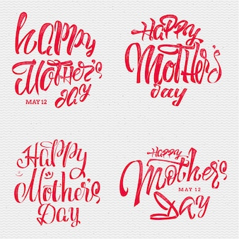 Bannière heureuse fête des mères