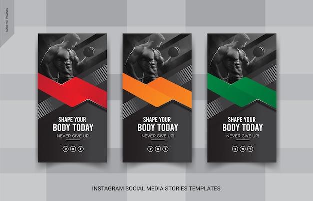 Bannière d'histoires de vente instapost, modèle de publication sur les réseaux sociaux