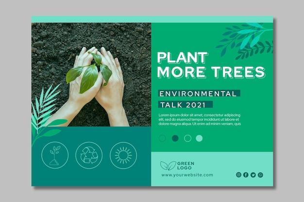 Bannière horizontale d'environnement