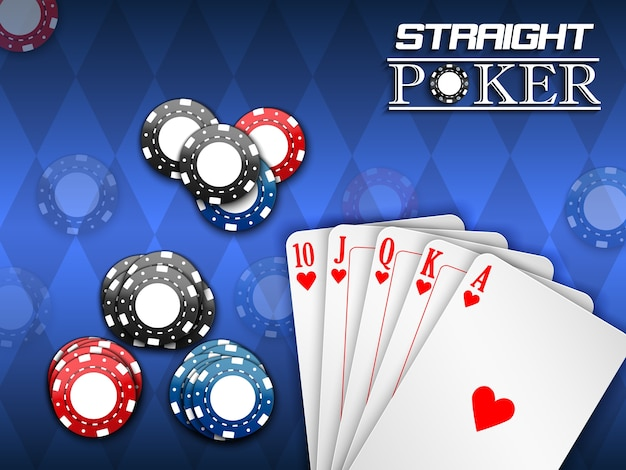 Bannière de jeu de poker