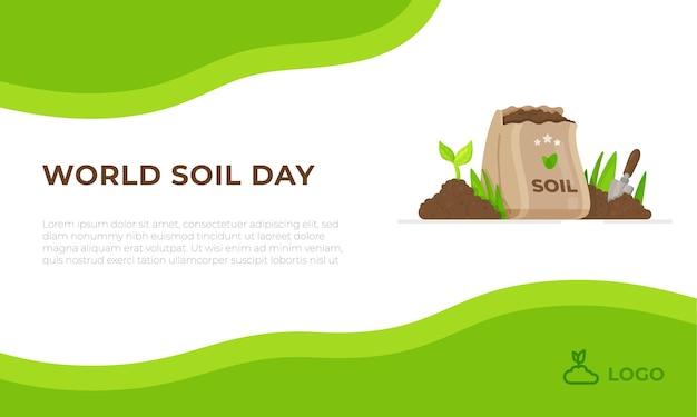 Bannière de la journée mondiale des sols