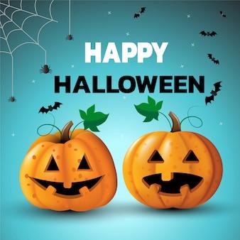 Bannière de joyeux halloween