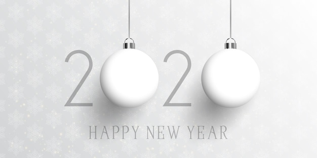 Bannière joyeux nouvel an