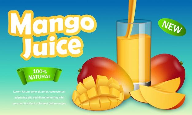 Bannière de mangue