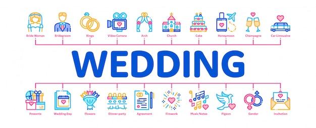 Bannière de mariage