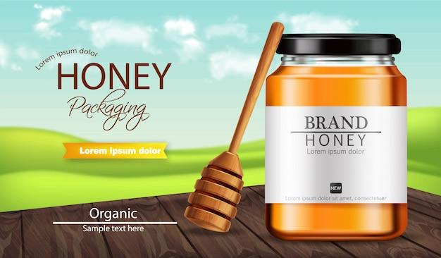 Bannière de miel