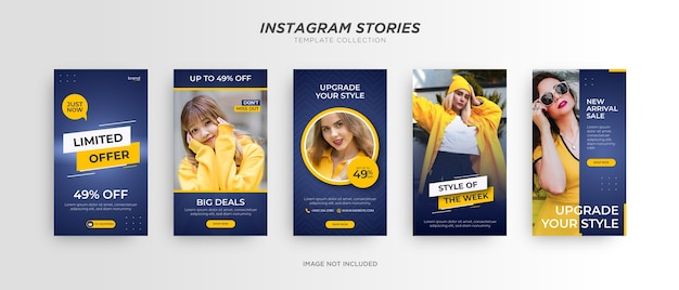 Bannière de mode. promotion des médias sociaux