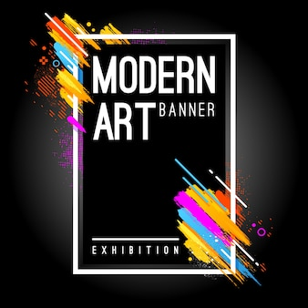 Bannière moderne